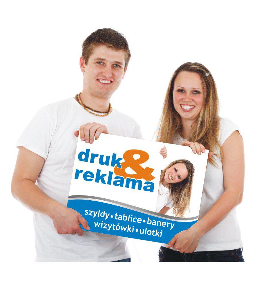 Druk i Reklama Lubliniec wykonuje szyldy, tablice reklamowe, banery, wizytówki